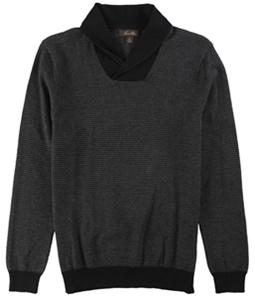 Tasso Elba Mens Rice Stitch Knit Sweater
