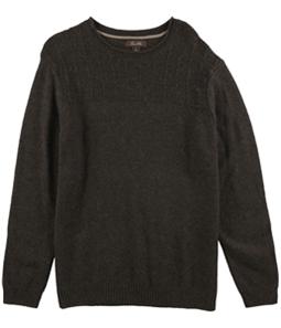 Tasso Elba Mens Duel-Textured Knit Pullover Sweater