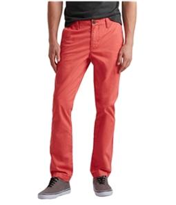 Aeropostale Mens Slim Straight Casual Chino Pants