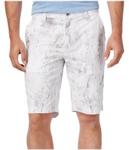 I-N-C Mens Jetsam Print Casual Walking Shorts