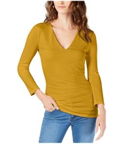 I-N-C Womens V-Neck Basic T-Shirt