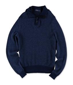 Ralph Lauren Mens Birdseye Silk Knit Sweater