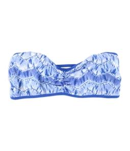 Aeropostale Womens Tie-Dye Strappy Bandeau Bra