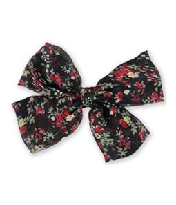 Aeropostale Womens Floral Bow Hair Barrette