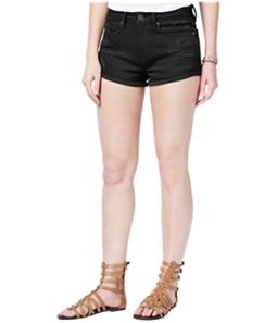 American Rag Womens Ripped Casual Denim Shorts