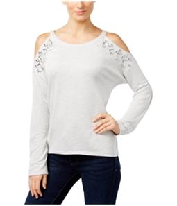 I-N-C Womens Embellished Sweatshirt
