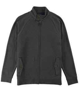 Tasso Elba Mens Quilted Knit Jacket