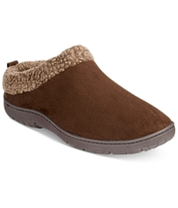 32 Degrees Mens Faux Suede Comfort Slippers