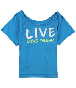 Aeropostale Womens Live Love Dream Pajama Sleep T-shirt