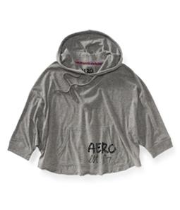 Aeropostale Womens Animal Hooded Hoodie Sweatshirt