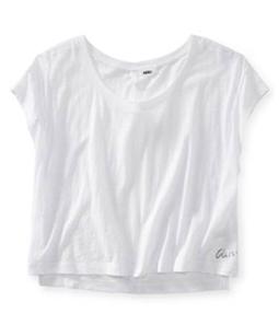 Aeropostale Womens Open Back Pajama Sleep T-shirt