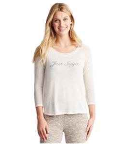 Aeropostale Womens Just Sayin' Pajama Sleep T-shirt