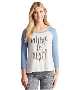 Aeropostale Womens Where To Next? Pajama Sleep T-shirt