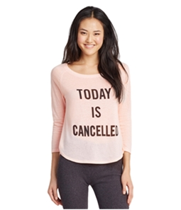 Aeropostale Womens Today IS Cancelled Pajama Sleep T-shirt