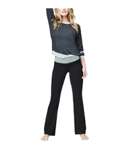 Aeropostale Womens Contrast Stripe Pullover Sweater