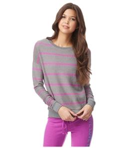 Aeropostale Womens Striped Pullover Sweatshirt