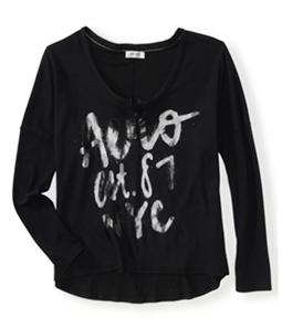 Aeropostale Womens Aero Est. 87 Nyc Thermal Sweater