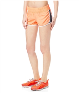 Aeropostale Womens Neon Stripe Athletic Workout Shorts