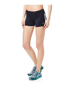 Aeropostale Womens Striped Running Athletic Workout Shorts