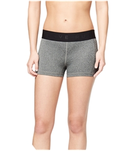 Aeropostale Womens Rubber Logo Athletic Compression Shorts