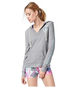 Aeropostale Womens Beach Logo Hoodie Sweatshirt