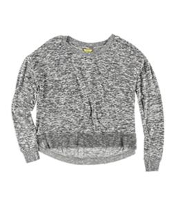 Aeropostale Womens Heather Hi-Lo Pajama Sweater