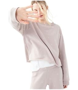 Aeropostale Womens Thunderstorm Pajama Sweater