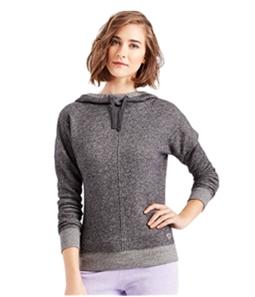 Aeropostale Womens Terry Popover Hoodie Sweatshirt