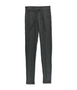 Aeropostale Womens Ribbed Knit Pajama Lounge Pants