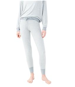 Aeropostale Womens Fuzzy Pajama Jogger Pants