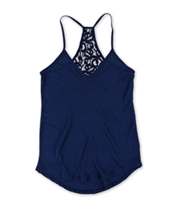 Aeropostale Womens Lace Racerback Pajama Sleep Tank Top