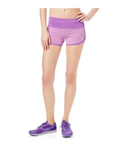 Aeropostale Womens Fleece Yoga Athletic Workout Shorts