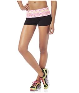 Aeropostale Womens LLD Snakeskin Athletic Workout Shorts