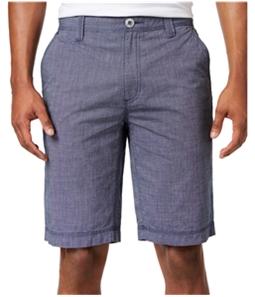 I-N-C Mens Chambray Casual Walking Shorts