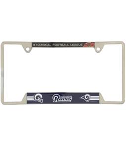 WinCraft Unisex LA Rams License Plate Frame Souvenir
