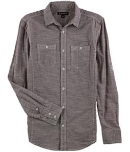 I-N-C Mens Roll Tab Button Up Shirt