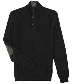 Tasso Elba Mens 3 Button Pullover Sweater