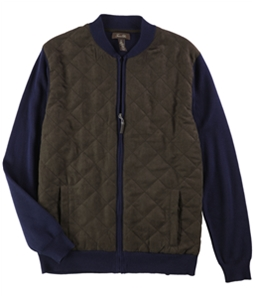 Tasso Elba Mens Mesh Quilted Jacket