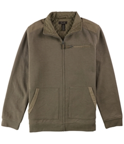Tasso Elba Mens Faux-Suede Jacket