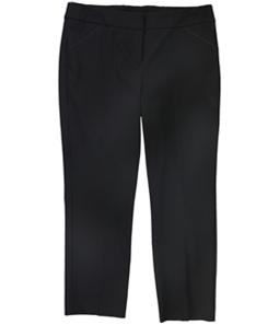 Alfani Womens Solid Slim Casual Cropped Pants