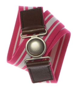 Aeropostale Womens Stripe Stretchy Belt