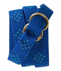 Aeropostale Womens Polka Dot Webbed Woven Belt