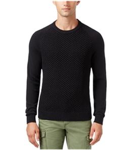 Tommy Hilfiger Mens Textured Pique Knit Sweater