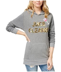 Bow & Drape Womens Juice Cleanse Hoodie Sweatshirt