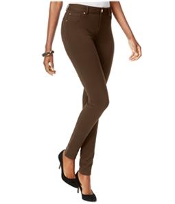 I-N-C Womens Curvy Ponte Skinny Casual Chino Pants
