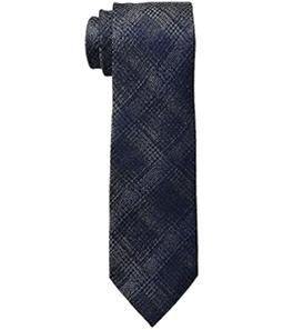 Michael Kors Mens Briarcliff Check Self-tied Necktie