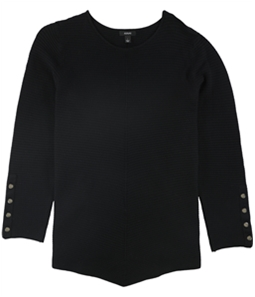 Alfani Womens Snap Detail Pullover Sweater