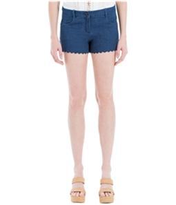 Max Studio London Womens Basic Casual Denim Shorts