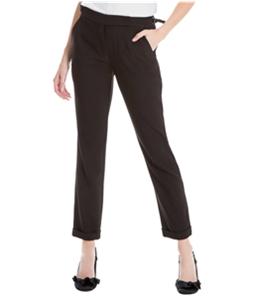 Max Studio London Womens Buckle Casual Trouser Pants