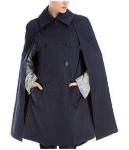 Max Studio London Womens Trench Cape Jacket